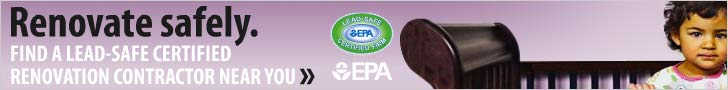 Find a lead-safe certified contractor in your area. Find out more from the U.S.